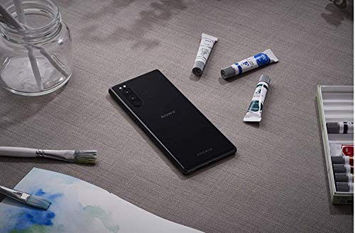 """Sony Xperia 5, 6.1"""" FHD+ HDR OLED 21:9 Display,6GB RAM, 128GB Speicher, Schwarz [Exklusiv bei Amazon]"""