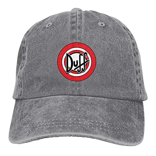 ZQLXD Anillo circular rojo y blanco letras patrón unisex béisbol gorras camionero gorras pico gorras ajustables transpirable sombreros papá sombreros
