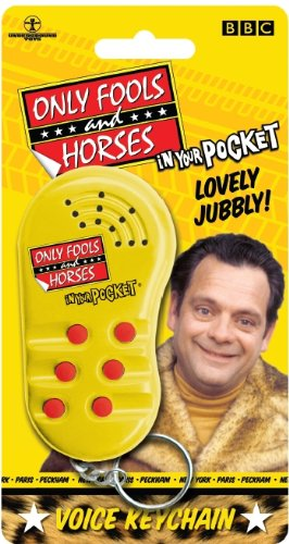 Official Only Fools and Horses in your pocket voice keychain.