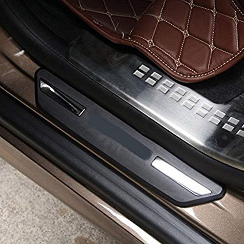 Plaque de Porte arrière en Plastique Porte arrière Plaque protectrice Garniture de Voiture Garniture de seuil Externe pédale pour XC60 V60 2014 2015 2016