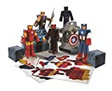 Avengers Marvel Assemble Papercraft Hydra Battle Heroes Pack