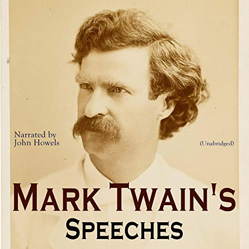 Mark Twain's Speeches audiobook cover art