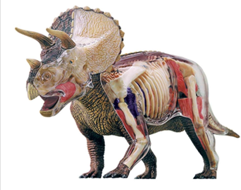 BBYT Lernen Über Dinosaurier Anatomie - 4D Puzzle zusammenbauen Spielzeug mit 39 Abnehmbar Teile (Alter 8+) B07PWW316H Vielfalt  | Neuheit