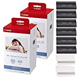 Canon KP-108IN Color Ink and Paper Set - Total of 216 Sheets and 6 Ink Cartridges