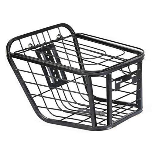 Lesrly-Cycle Bike Basket, Fold-Up Detchable Back Bag, Rear Hanging Bike Basket, Easy Installation, Suitable for Most Mountain/Road/Commuter Bikes