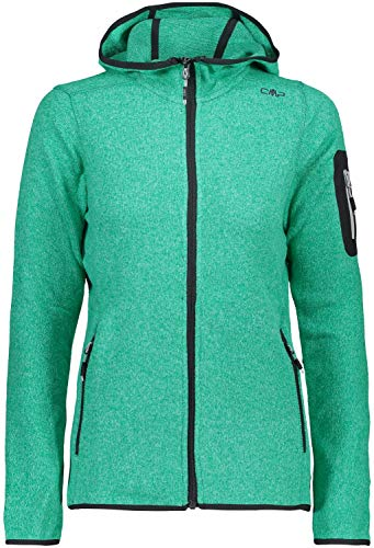 CMP Damen Strickjacke Jacke, Mint-Aquamint, 38