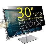 Xianan 30' (16:10) Blickschutzfilter für Breitbild Monitor - 25,25x15,78' / 641,3x400,8mm Sichtschutzfolie Privacy Filter Displayfilter PC Blickschutzfolie - Wir bieten 3 verschiedene 30' Filtergrößen