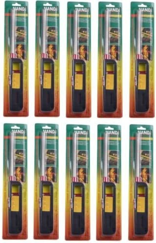 10pk BBQ Grill Lighter Refillable Ki Financial sales sale Candle Gas We OFFer at cheap prices Butane Fireplace