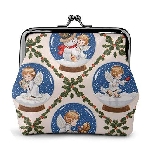 USA Kawaii Baby Bier Weihnachten Frauen Classic Lock Clutch Brieftasche Schnalle Geldbörsen