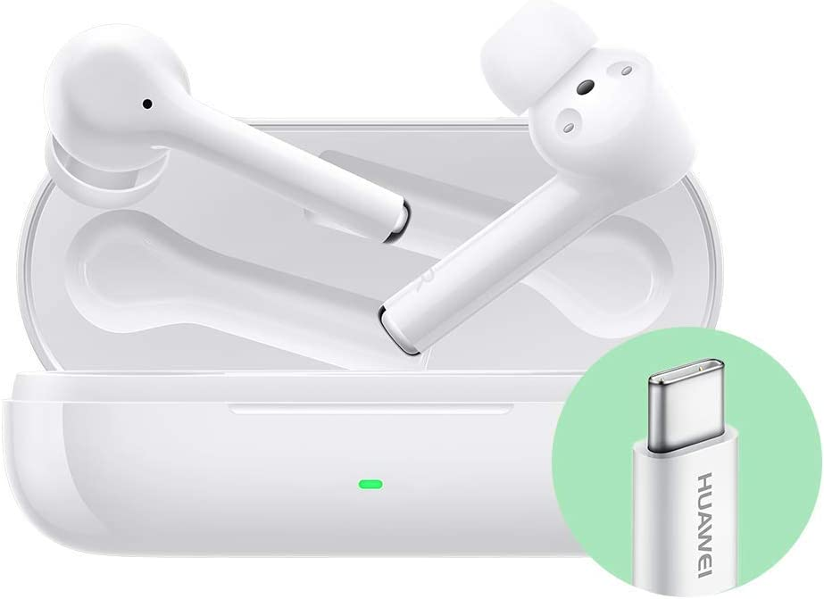 Huawei FreeBuds 3i - Wireless Headphones Ceramic White