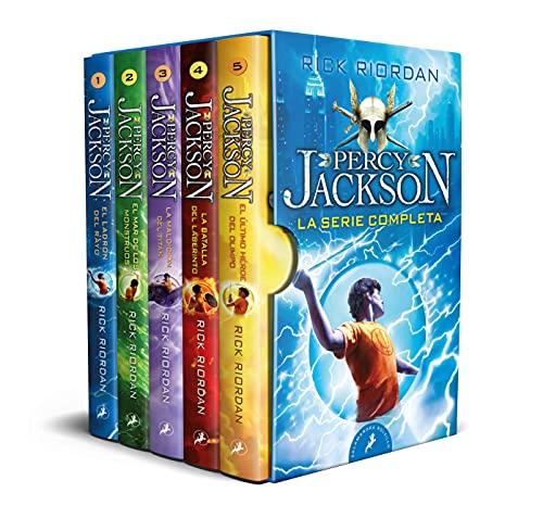 Percy Jackson y los dioses del Olimpo - La serie completa: (pack con: El ladrón del rayo | El mar de los monstruos | La maldición del Titán | La ... héroe del Olimpo) (Salamandra Bolsillo)