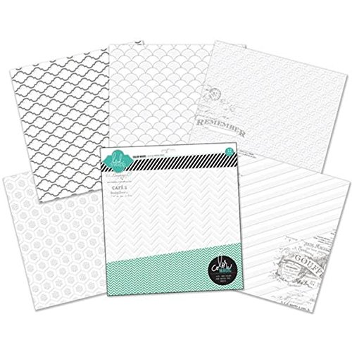 American Crafts Papier Color Magic widerstehen Papier Pack 12Zoll x 12Zoll 12kg –