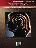 Paint It, Black: Piano/Vocal/Guitar: Original Sheet Music Edition