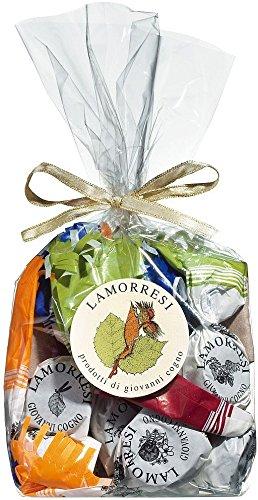 chocolats-de-luxe Lamorresi Cogno Barolo 200g Tüte Pralinen mit Grappa, Rum oder Barolo
