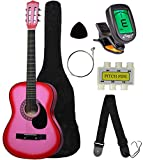 "Crescent MG38-PK 38"" Acoustic Guitar Starter Package"