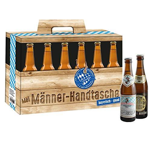 Bavariashop Bierig bayerische Männer Handtasche, Boarische Männer-Handdaschn für gstandne Mannsbilder