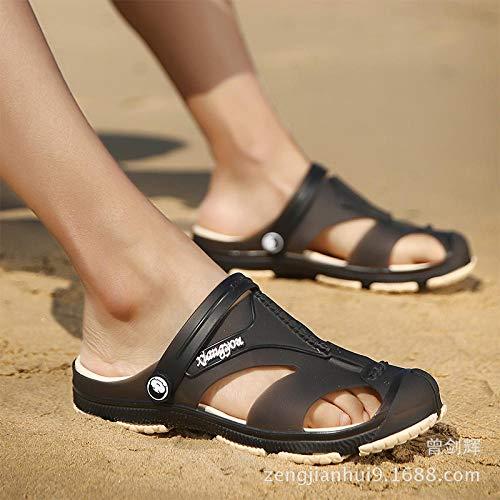 WTFYSYN Piscina de Gimnasio Zapatillas,Zapatillas de Playa, Zapatos con Agujeros, Zapatos de...