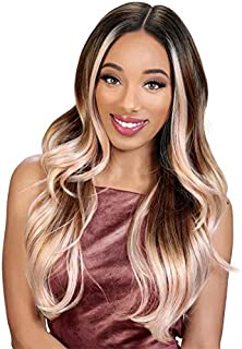 Zury Sis Synthetic Pre-Tweezed Swiss Lace Front Wig - H GLORY (SOM RT SKY)