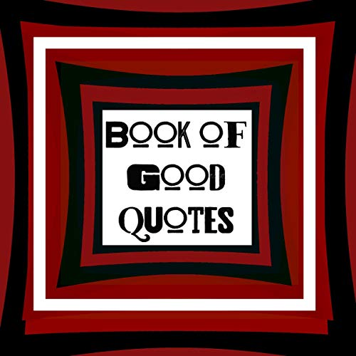 『Book of Good Quotes』のカバーアート