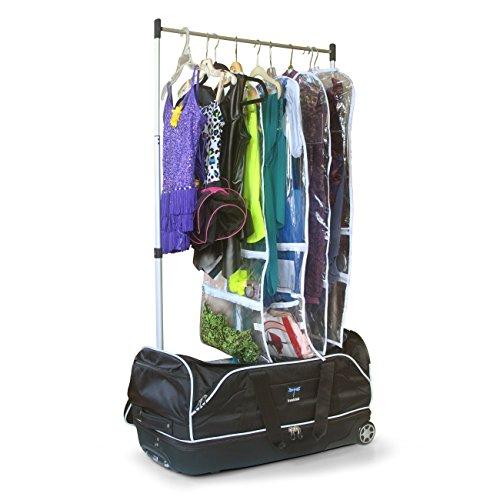 Travolution 28-inch Wheeled Drop Bottom Duffel with Garment Rack