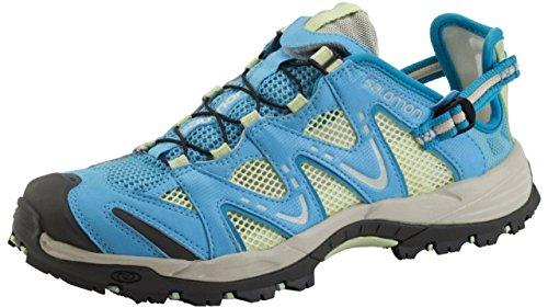 Salomon Salomon Damen Riverside Schuhe, Score Blue/Green T, 38 EU