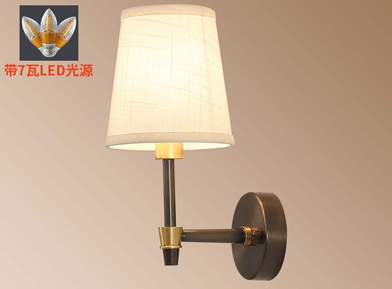 StiefelU LED Wandleuchte nach oben und unten Wandleuchten Wandleuchten voll Kupfer Wandleuchten Wandleuchten im Wohnzimmer, antik Nachttischlampe Schlafzimmer Wand Lampe, einzelne Wand Lampe