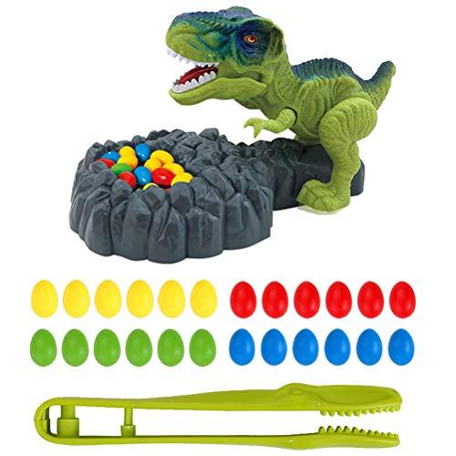 Juego de mesa de dinosaurio para morderse los dedos de dinosaurio juguetes para la familia multijugador juego de escritorio de juguete educativo temprano regalo para niños rompecabezas muñeca conjunto
