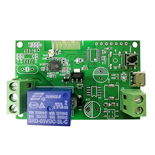 Interruttore Wireless 5V / 12V / 220V Interruttore Wifi Modulo Relè 433 MHz Telecomando per Android/IOS Controllo APP Compatibile con Amazon Alexa Controllo