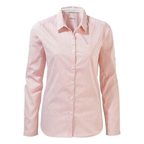 Craghoppers NosiLife Verona II Chemise à Manches Longues Femmes hiver rose 2020 Chemise à Manches Longues - Rose - 42