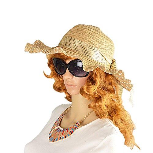 rüsche spitze blumendekoration staw neue designer mode sonnenhüte für frauen vier farben sonnenh