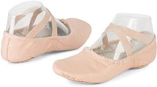 Danshuz Womens Pink Pro Soft Canvas Mesh Dance Ballet Shoes Size 3-10
