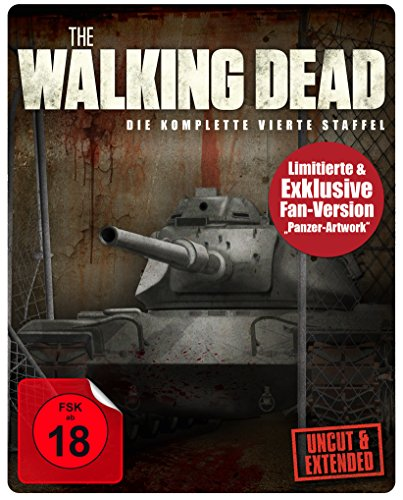 The Walking Dead - Staffel 4 - Panzer-Artwork (Uncut & Extended) (Limited Edition)