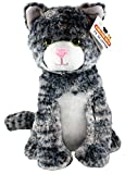 Shelter Pets Series One: Tig The Cat - 10' Gray Tabby Plush Toy Stuffed Animal - Based on Real-Life Adopted Pets - Benefiting The Animal Shelters They were Adopted from