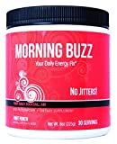 New Health Morning Buzz Daily Energy Drink - Pre Workout and Mood Boost - Mental Focus, Immune Support, and Energy Powder - 30 Servings, 8 Ounce (Pack of 1)