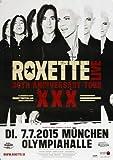 Roxette - Live Tour, München 2015 » Konzertplakat/Premium