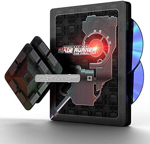 BLADE RUNNER Premium Steelbook Titans Of Cult 4K UHD Blu-ray (Region-Free European Import)
