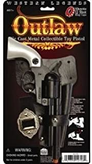Western Legends Outlaw Die Cast Metal Cap Pistol