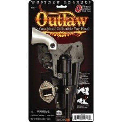 Western Legends Outlaw Metal Pistol