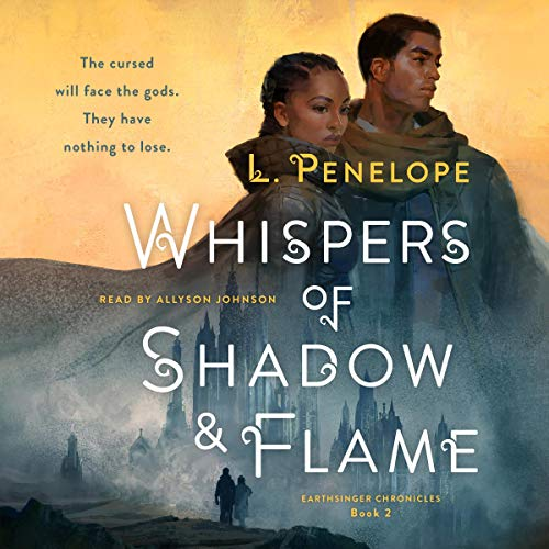 Whispers of Shadow & Flame Audiobook By L. Penelope cover art