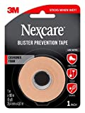 Nexcare Blister Prevention Tape, Tears Easily, for Blister Prevention, 1 Roll