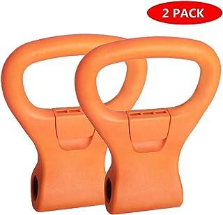 Kettlebell grepp, justerbar bärbar reseträningstillbehör, hantelviktklämma för gym viktlyftning, bodybuilding, gå ner i vi...