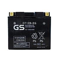 【初期充電済み】 台湾GSバッテリー GT12B-BS (YT12B-BS互換) ドラッグスター400 クラシック (4TR / BC-VH01J) FZ400