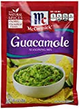 McCormick GUACAMOLE Seasoning Mix 1oz. (9 Packets)