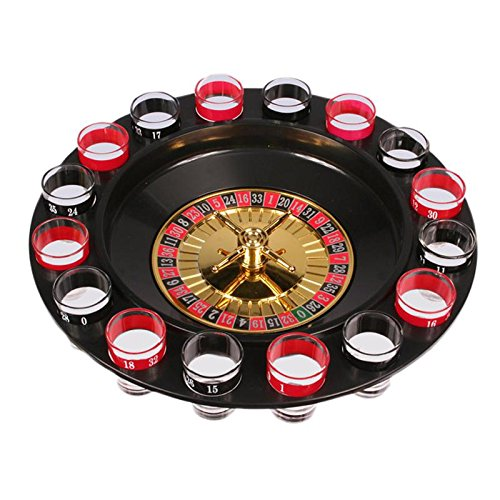 Out of the blue Juego Chupitos Ruleta Drinking Roulette Set