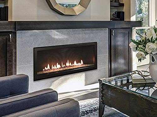 Buy Discount Empire Comfort Systems 48 Boulevard DV Linear Fireplace w/Copper Reflective Crushed Gl...