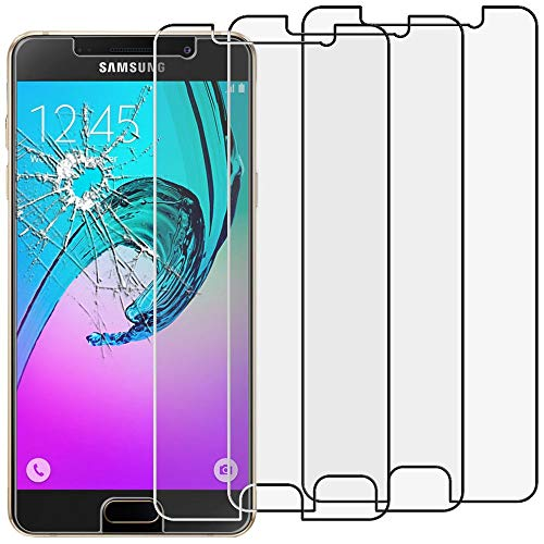 ebestStar - kompatibel mit Samsung Galaxy A5 2016 Panzerglas x3 SM-A510F Schutzfolie Glas, Schutzglas Displayschutz, Displayschutzfolie 9H gehärtes Glas [Phone: 144.8 x 71 x 7.3mm, 5.2'']