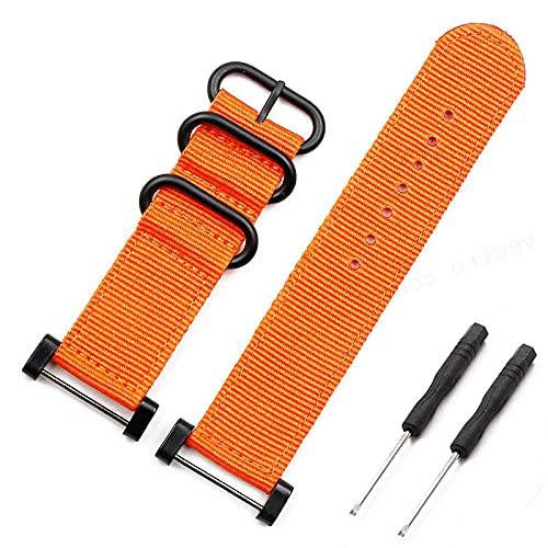 AFAY Correa de reloj de pulsera, accesorio de nailon, hebilla de 24 mm, compatible con Suunto Core Outdoor Sports impermeable para hombre