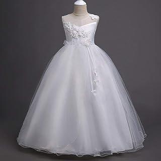 子供ドレス ノースリーブ ジュニアプリンセスドレス ロングドレス ガールズ フォーマルドレス ウエディング 結婚式 入園式 演奏会 パーティー 七五三 卒業式