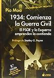 1934: comienza la Guerra civil. el psoe y esquerra emprenden contienda