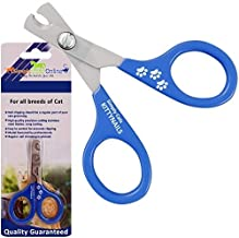 Simply Pets Online Cat Nail Clippers - Safe and Easy to Use Professional Stainless Steel Pet Claw Cutter …